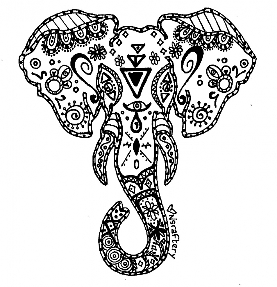 colouring pictures of elephant unique hard elephant coloring pages drawing big pictures elephant colouring of