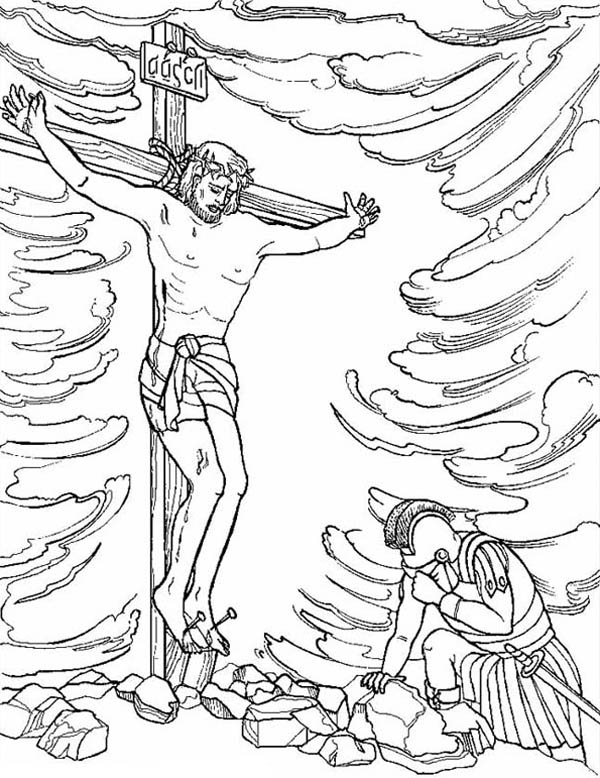 colouring pictures of jesus resurrection jesus resurrection in heaven with lambs coloring page netart of jesus colouring resurrection pictures