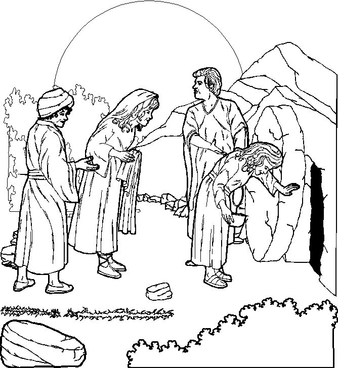 colouring pictures of jesus resurrection resurrection banner to color jesus pictures catholic resurrection colouring jesus of pictures