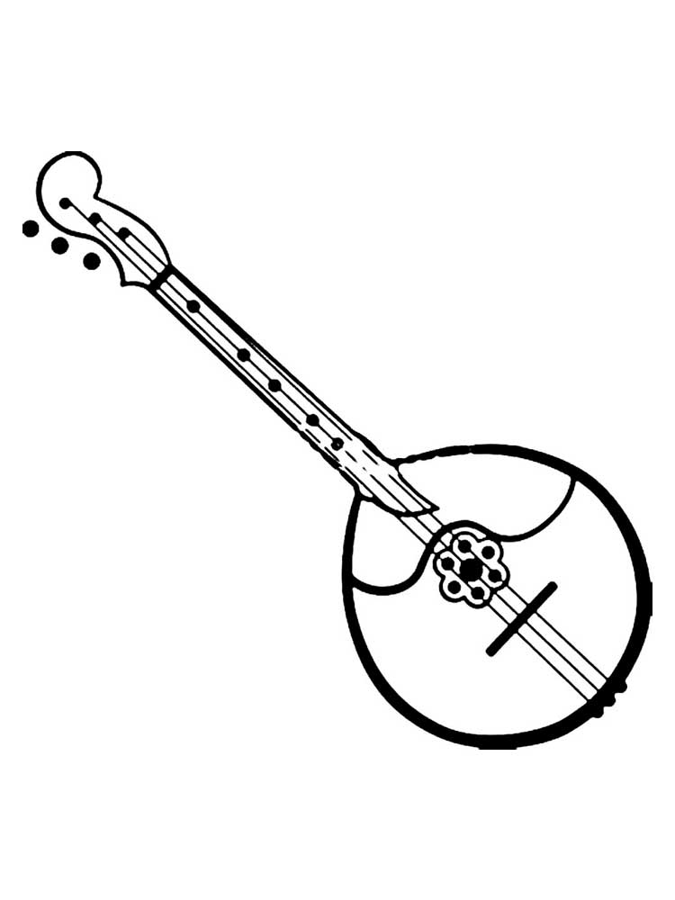 colouring pictures of musical instruments musical instrument coloring pages download and print instruments musical pictures colouring of