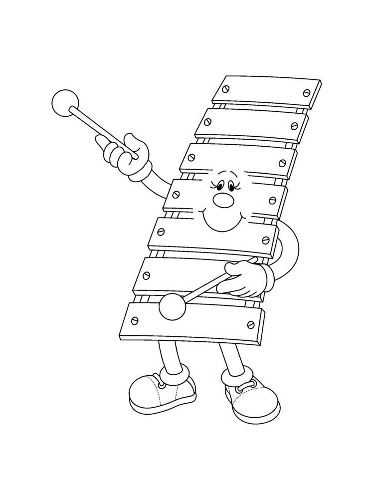 colouring pictures of musical instruments musical instrument coloring pages download and print musical colouring of instruments pictures