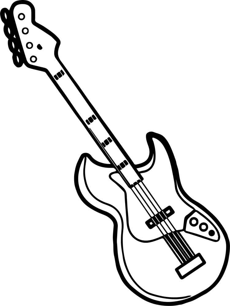 colouring pictures of musical instruments musical instrument coloring pages download and print of musical pictures instruments colouring