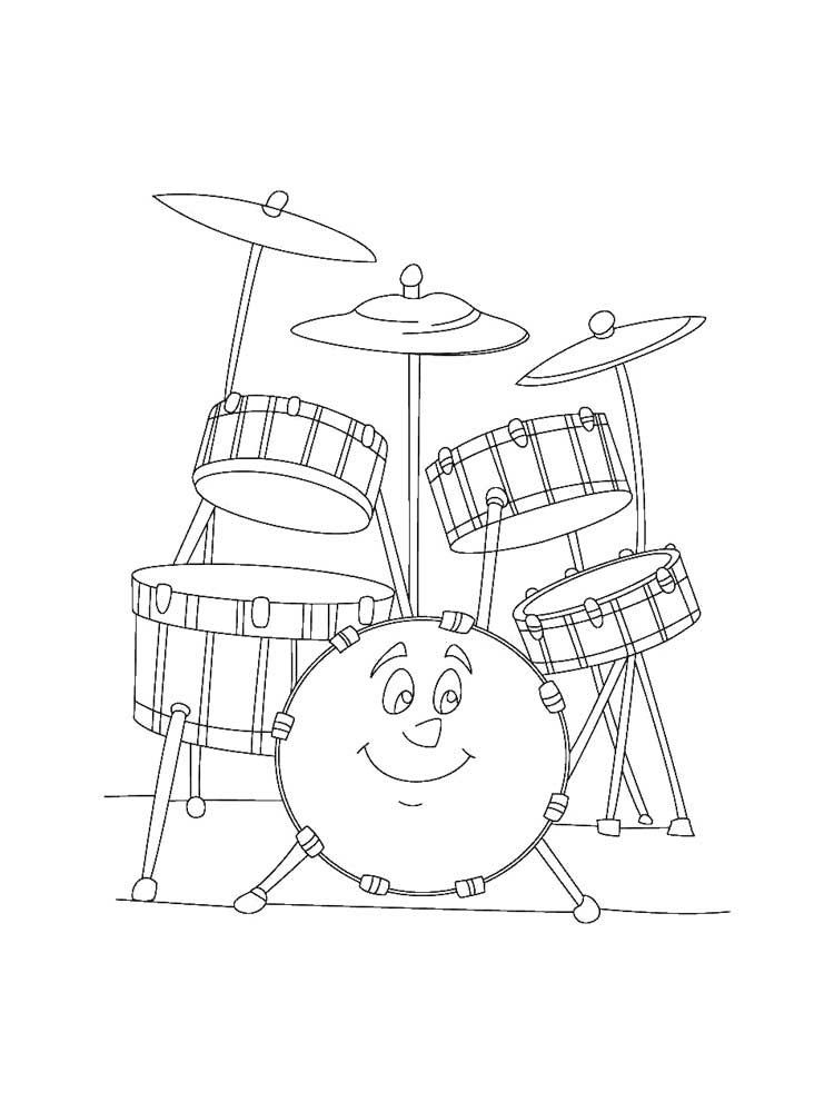 colouring pictures of musical instruments musical instrument coloring pages download and print pictures instruments musical colouring of