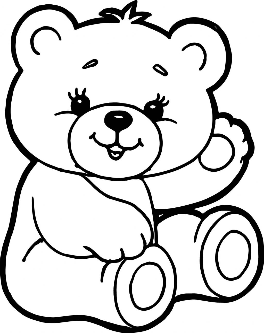 colouring teddy bear christmas teddy bear coloring pages printable for kids bear teddy colouring