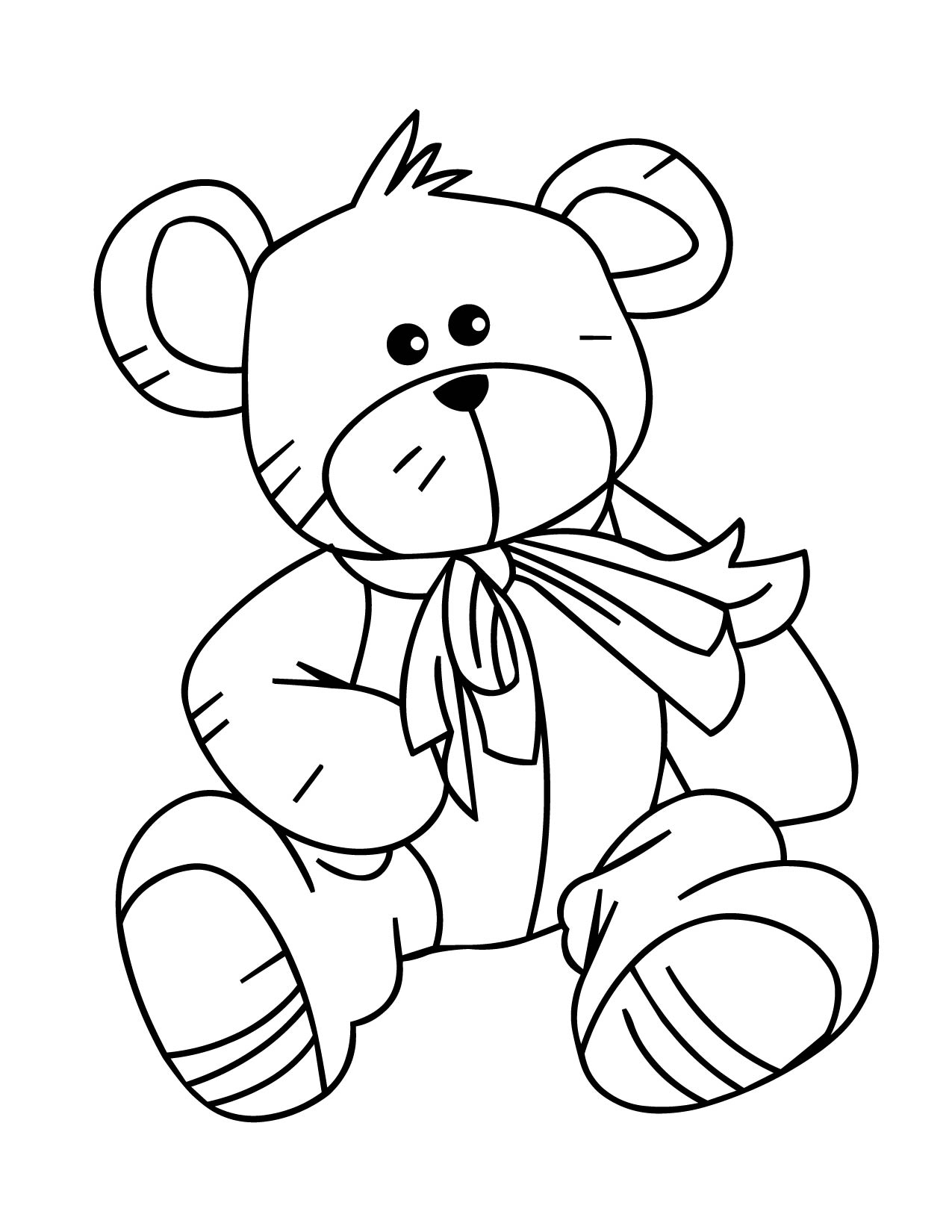colouring teddy bear teddy bear coloring pages for girls to print for free colouring bear teddy