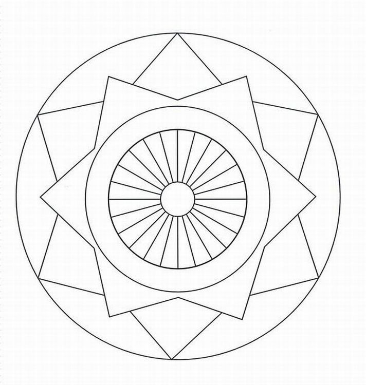 cool designs to color free printable geometric coloring pages for adults cool color to designs