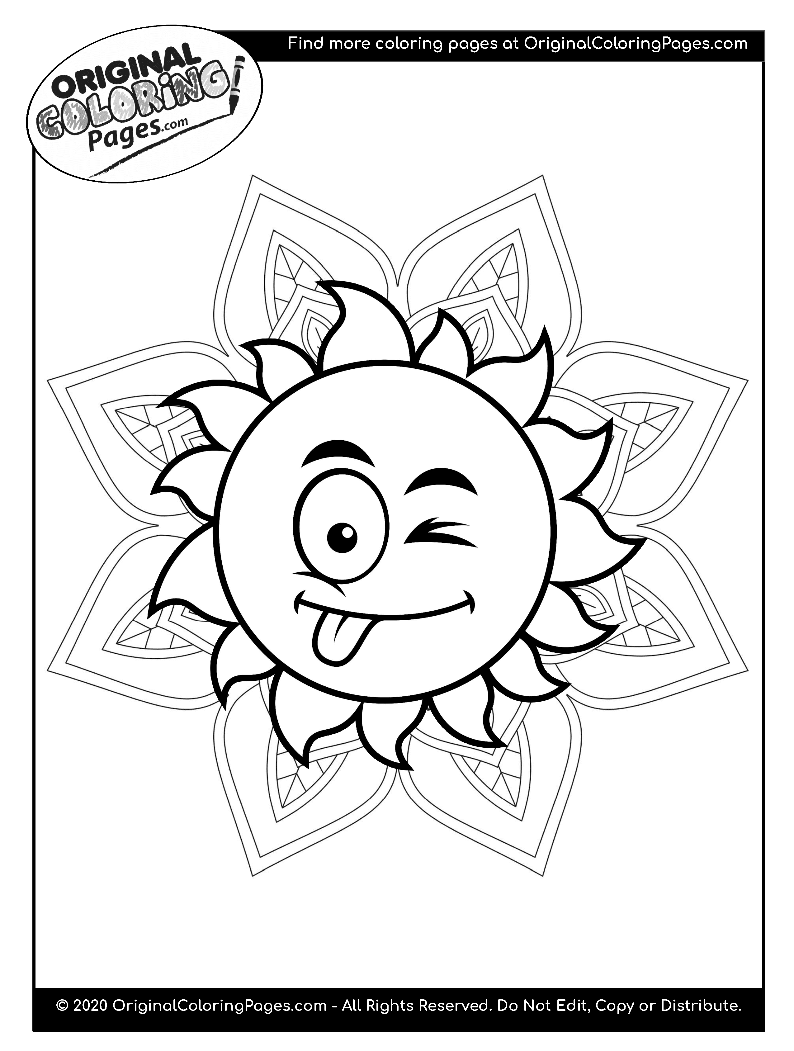 cool sun coloring pages cool sun surrounded by stars adult coloring pages sol sun coloring pages cool