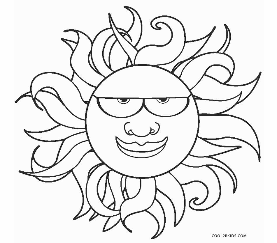 cool sun coloring pages free printable sun coloring pages for kids cool2bkids pages coloring sun cool 1 1