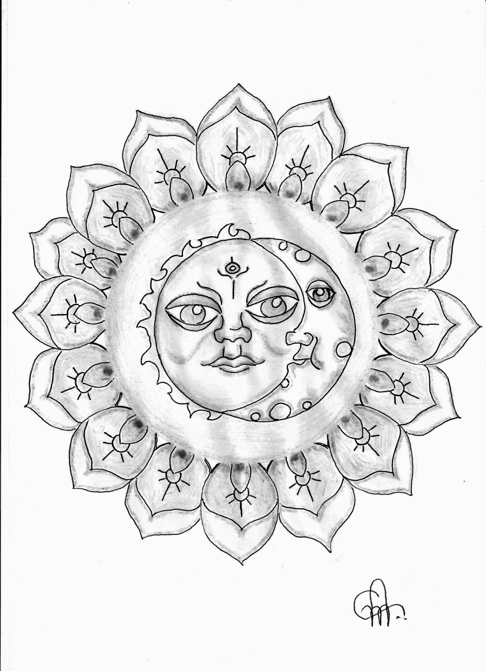 cool sun coloring pages moon sun coloring page cosmicthreads moonandsun sun coloring pages cool