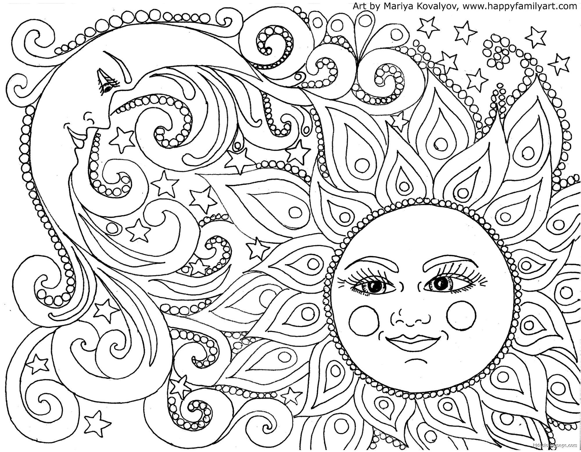 cool sun coloring pages sunset coloring pages to download and print for free pages sun cool coloring