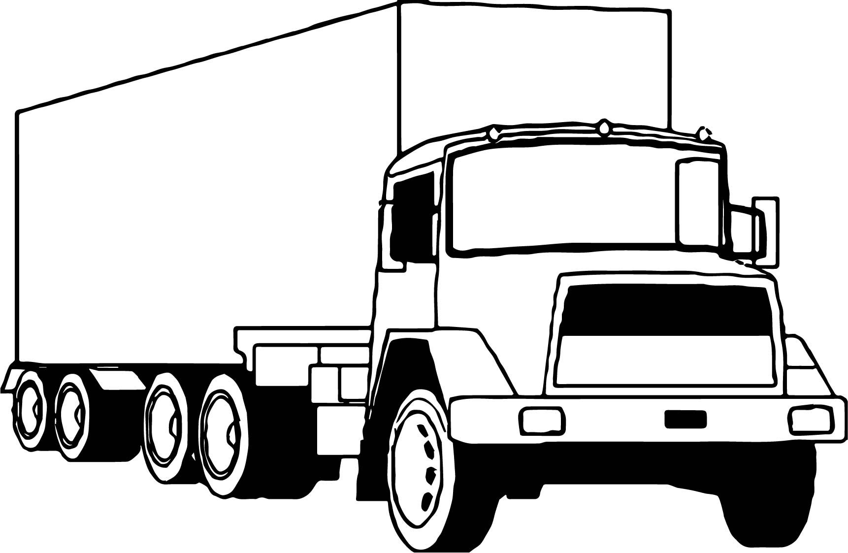 cool truck coloring pages cool truck drawing at getdrawings free download truck pages cool coloring