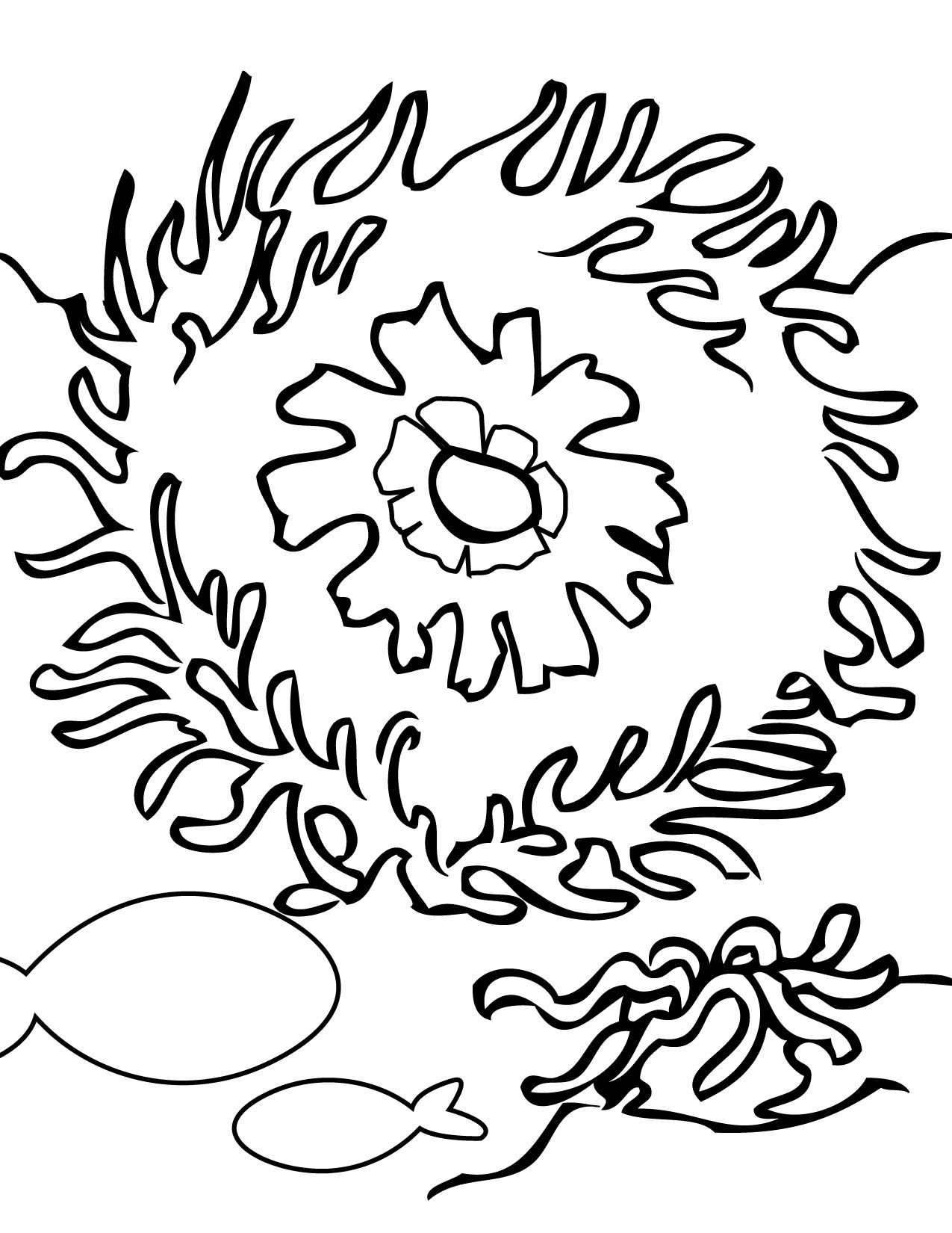 coral coloring pages coral reef coloring pages coral free printable coral coloring pages