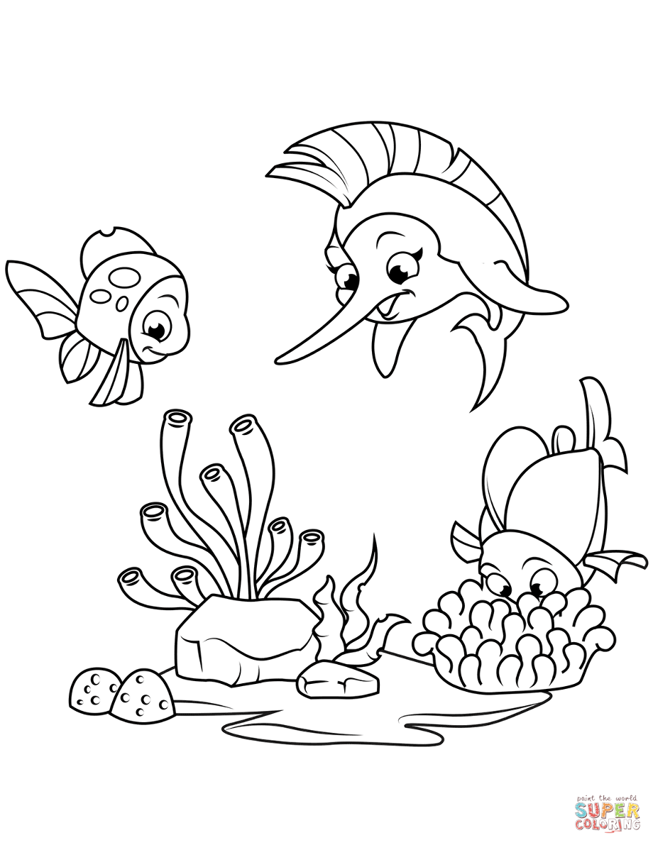 coral coloring pages sea coral drawing at paintingvalleycom explore pages coloring coral