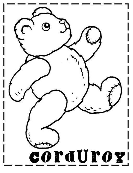 corduroy coloring page corduroy freebie teach with laughter subtraction page corduroy coloring