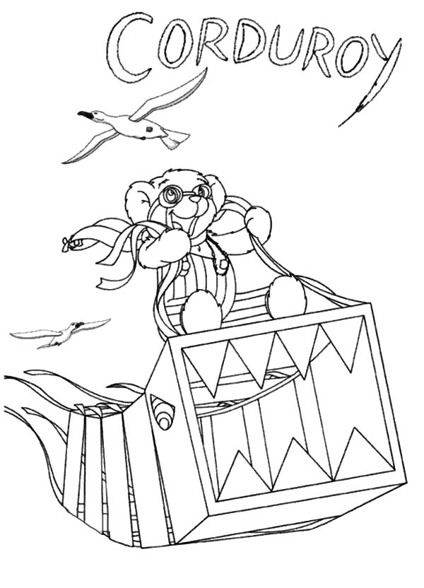 corduroy coloring page corduroy the bear coloring pages coloring home page coloring corduroy