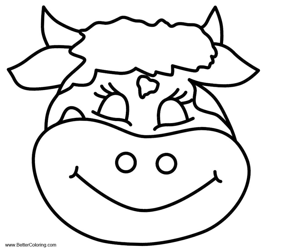 cow head coloring page cow coloring pages 1 treehutin cow coloring head page