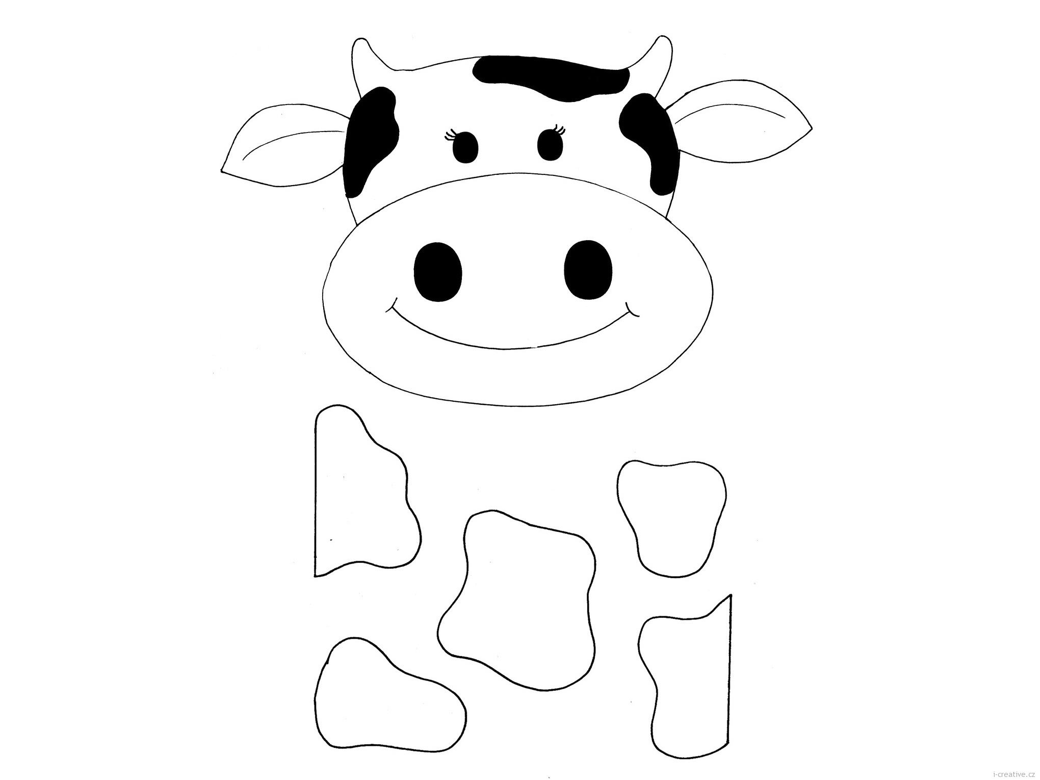 cow head coloring page cow head coloring page at getcoloringscom free cow page coloring head