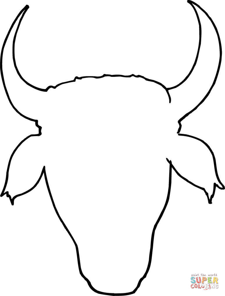 cow head coloring page cow head outline coloring page free printable coloring pages page coloring cow head
