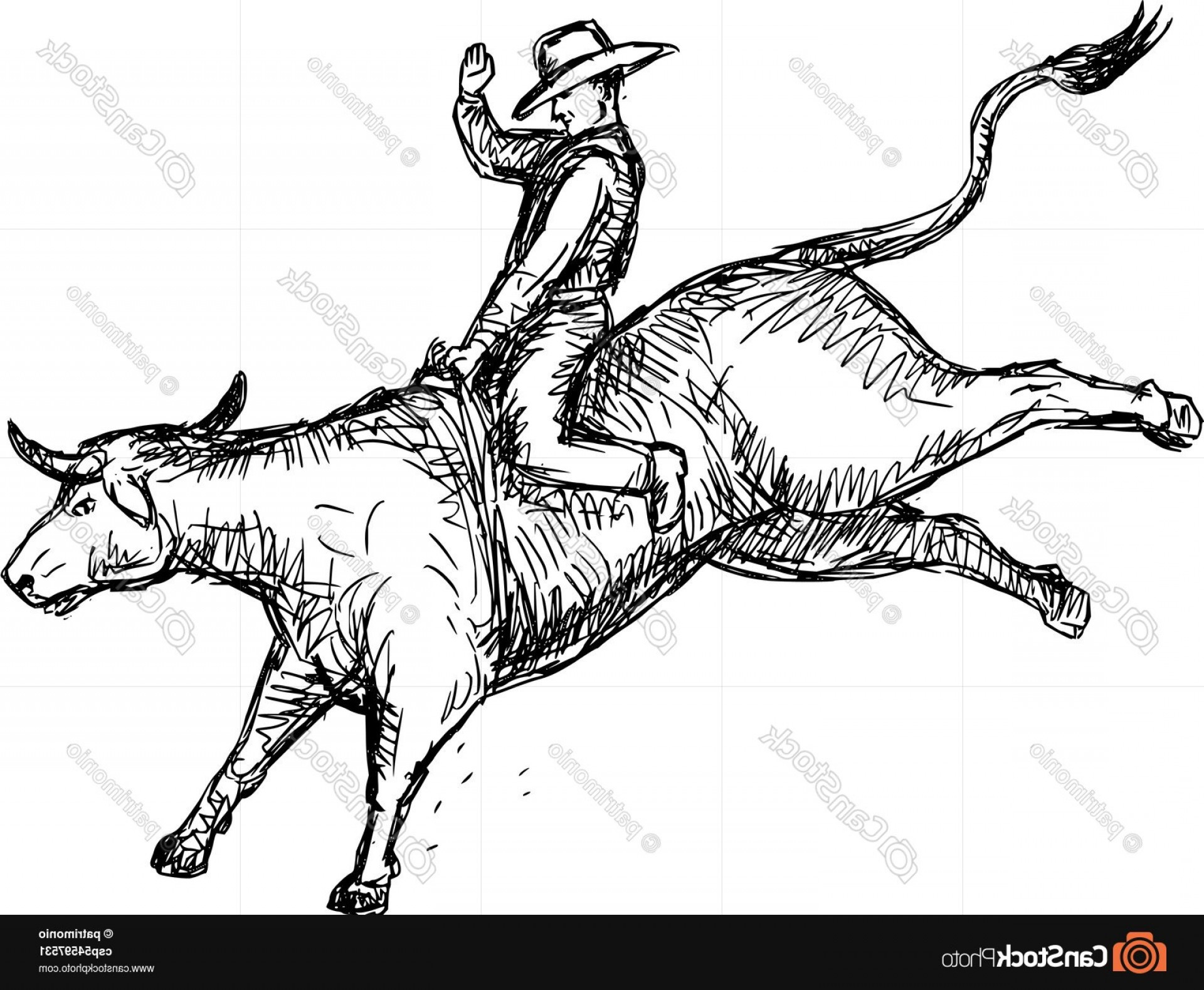 cowboy line drawing a black and white version of a vintage style line drawing line cowboy drawing