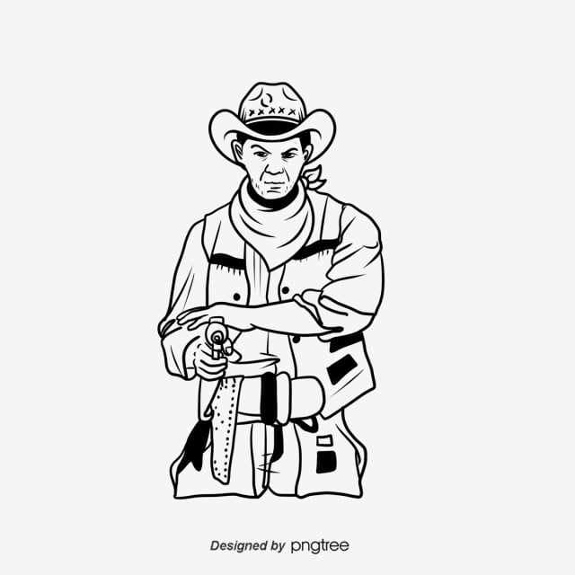 cowboy line drawing western cowboys line drawings google search line line cowboy drawing