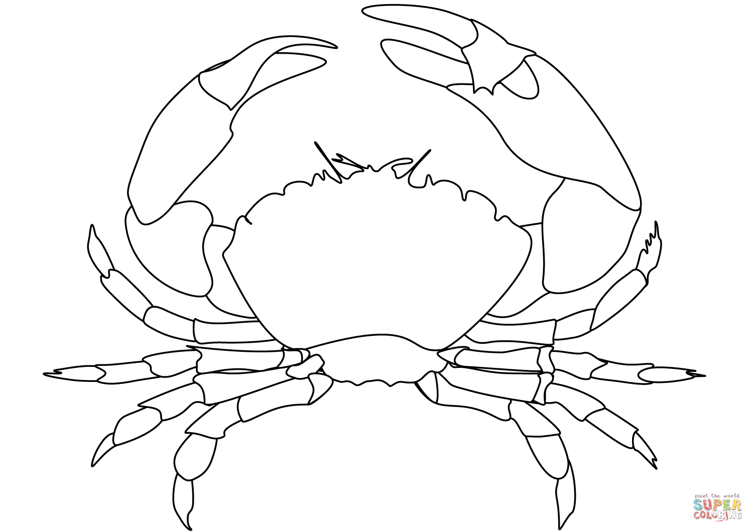 crab coloring pages free crab coloring page free printable coloring pages pages crab free coloring