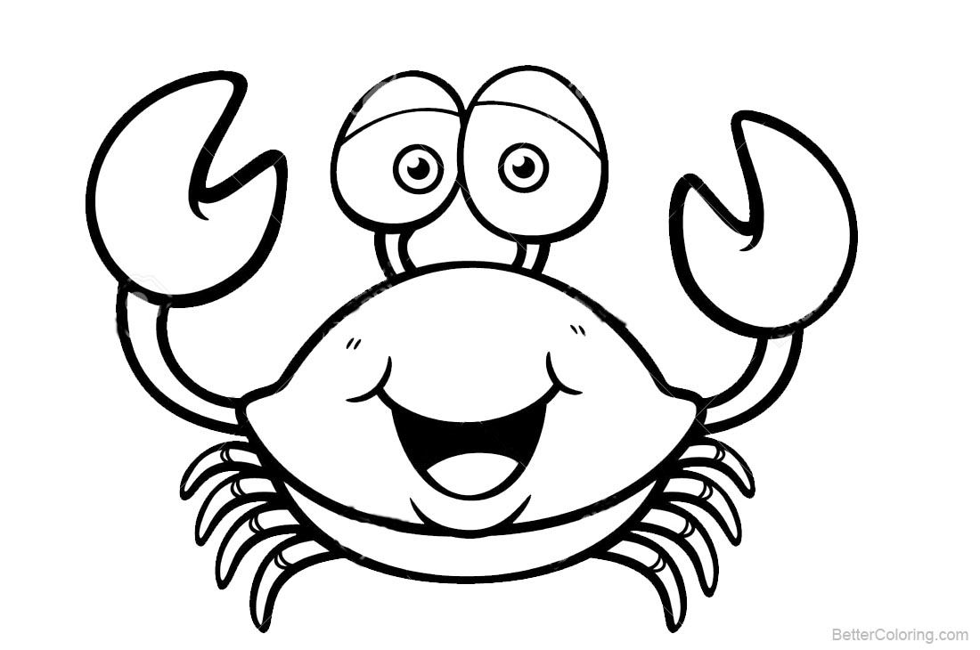 crabs coloring pages crab coloring pages coloring crabs pages