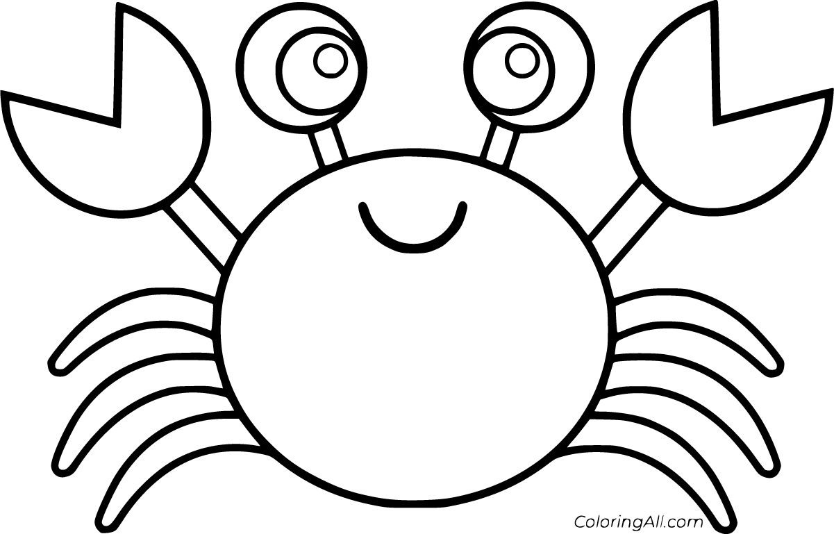 crabs coloring pages crab coloring pages crabs pages coloring