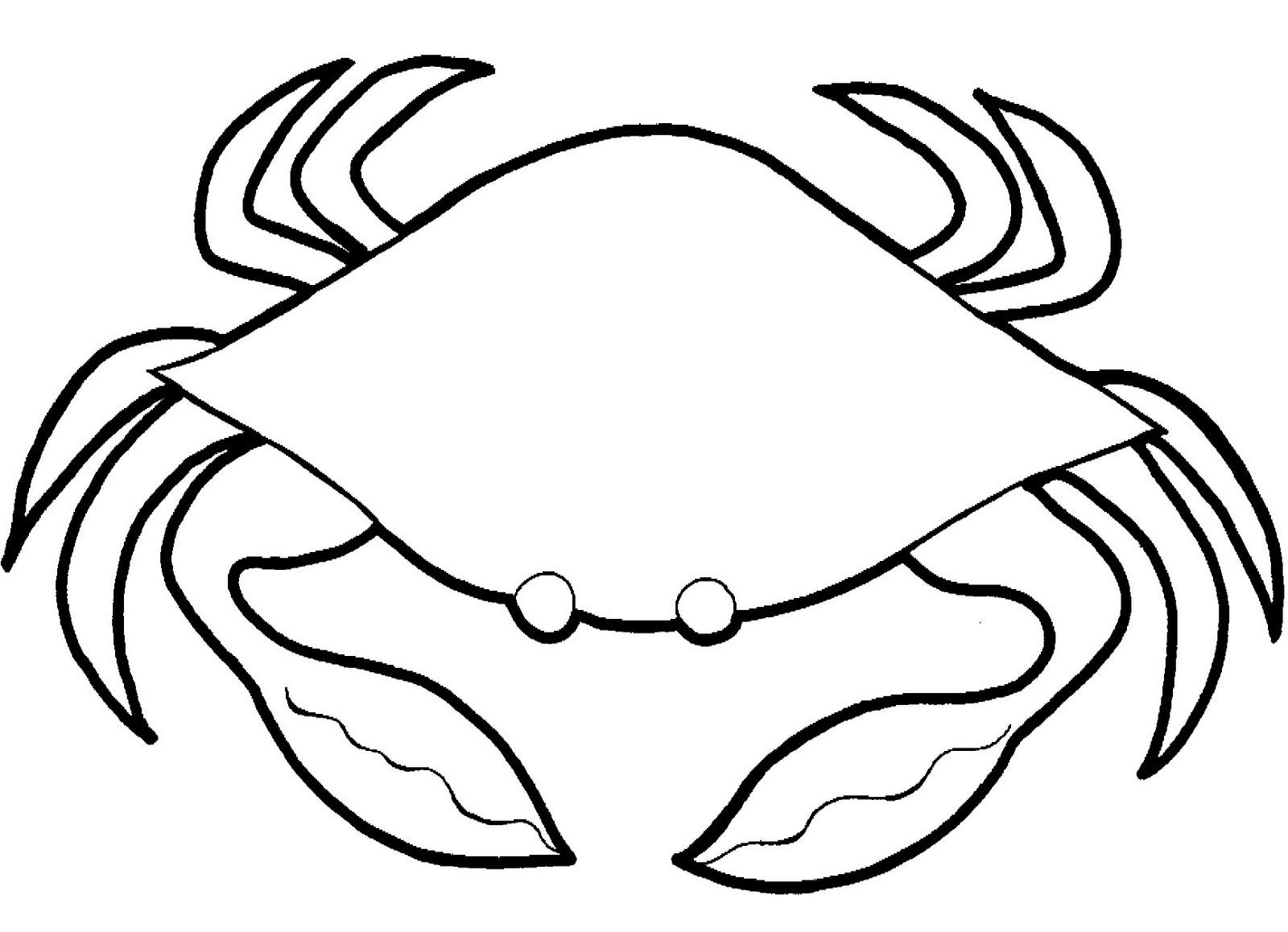 crabs coloring pages printable crab coloring pages cute looking cartoon crab crabs coloring pages