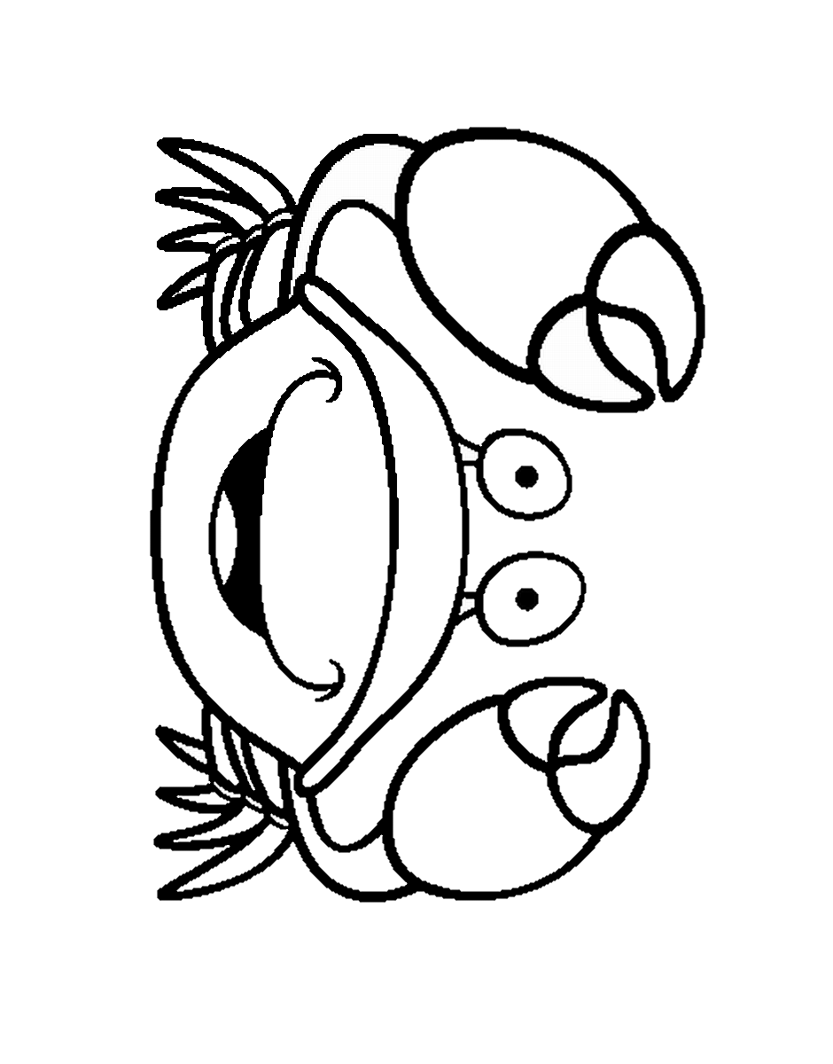 crabs coloring pages top 35 free printable ocean coloring pages for kids pages crabs coloring