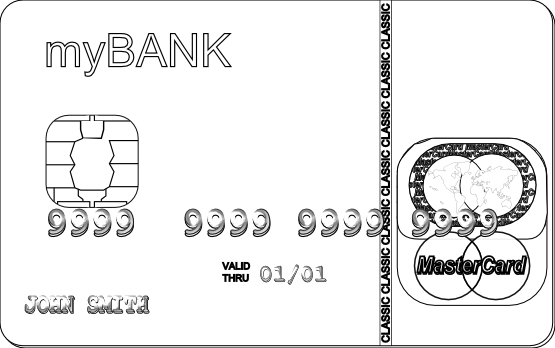 credit card coloring pages creditcard coloring page free others coloring pages coloring credit pages card