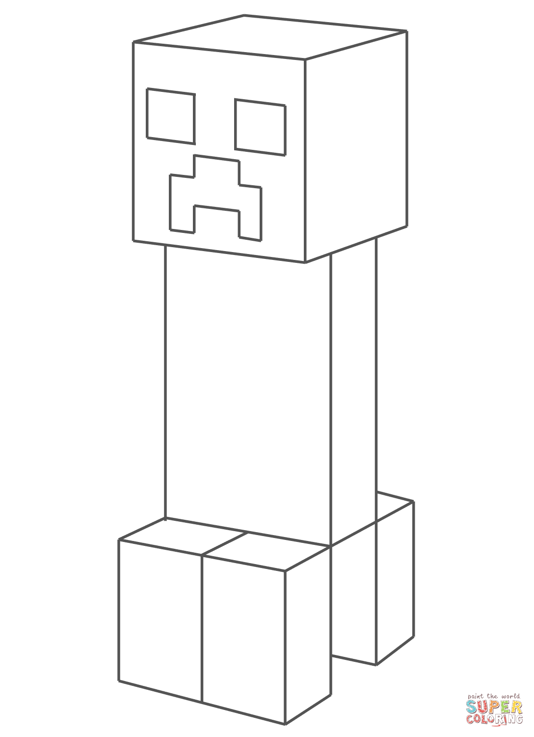 creeper coloring pages minecraft coloring pages creeper printable coloring pages pages coloring creeper