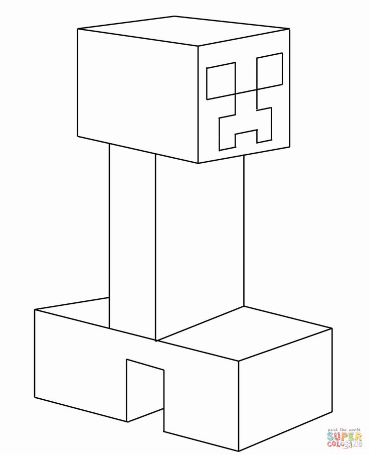 creeper coloring pages minecraft creeper coloring pages coloring home coloring creeper pages