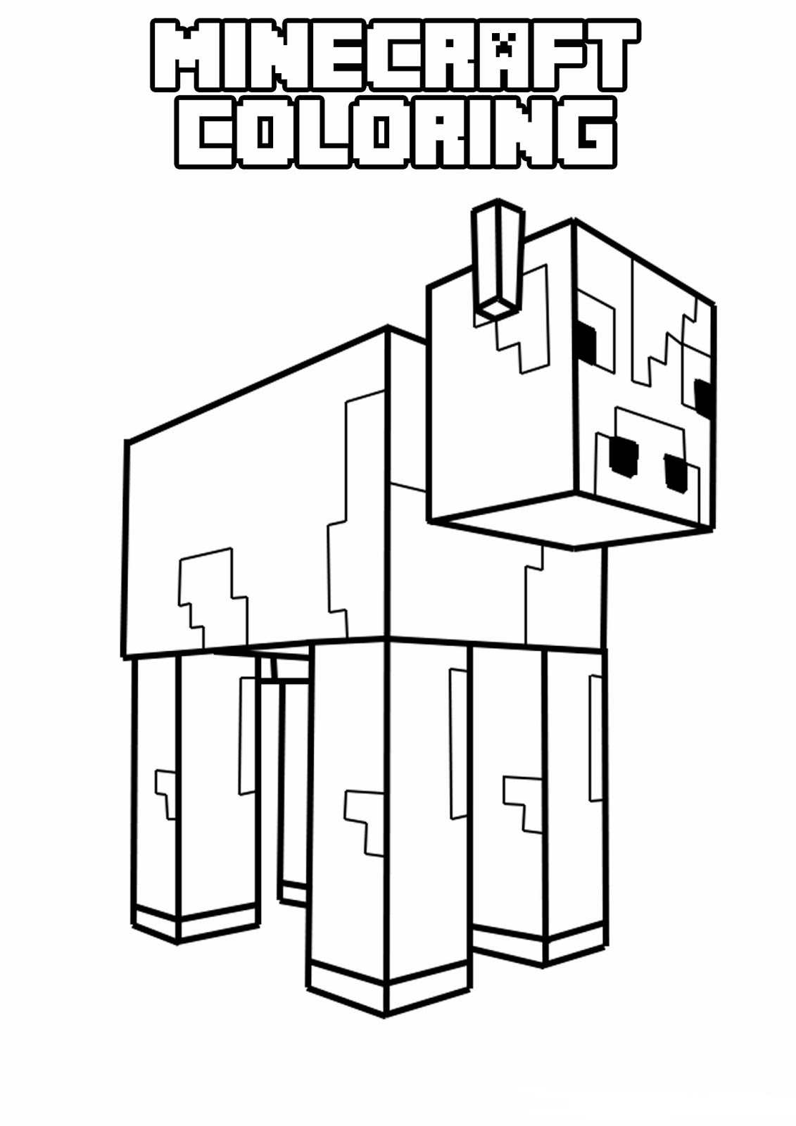 creeper coloring pages printable minecraft coloring pages coloring home coloring pages creeper