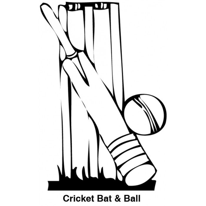 cricket bat coloring pages bat outline drawing at getdrawings free download pages cricket bat coloring