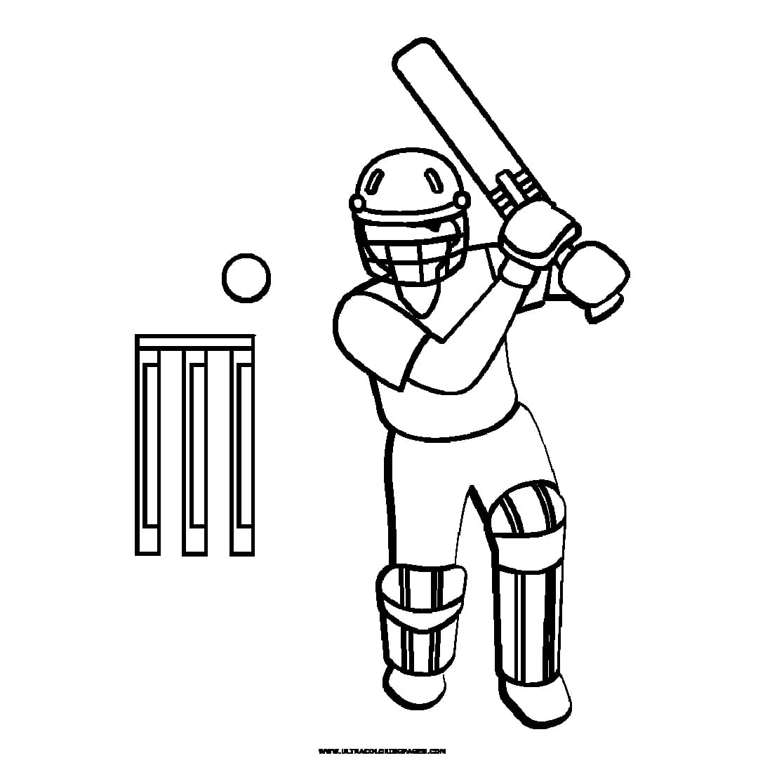 cricket bat coloring pages free online cricket bat ball colouring page cricket cricket bat pages coloring