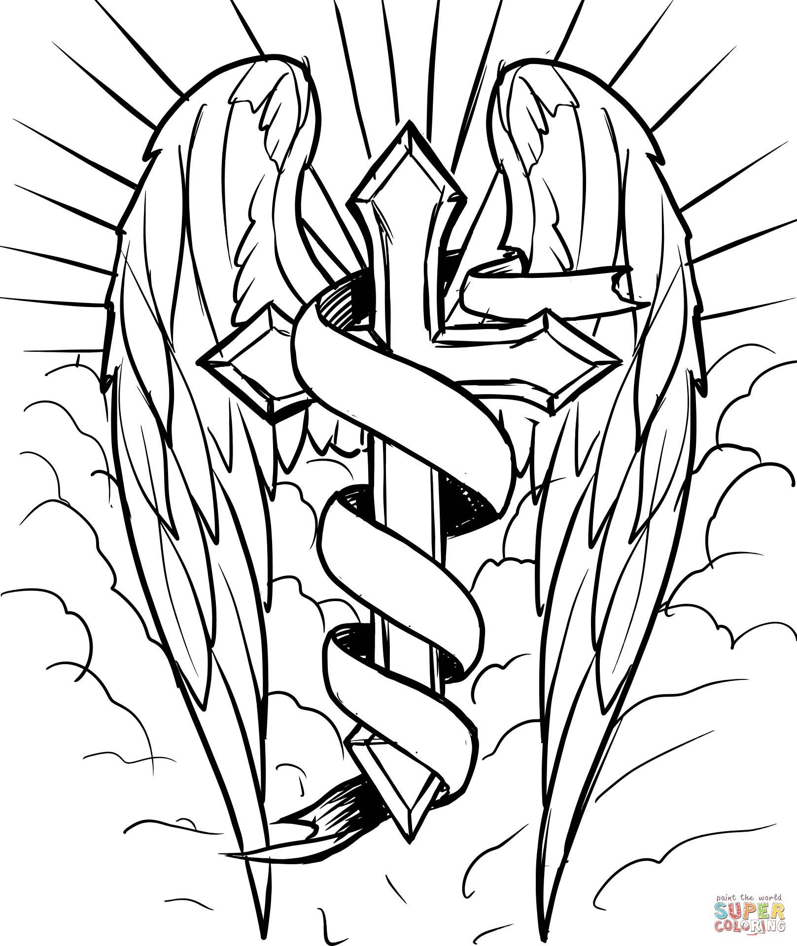 cross coloring sheet celtic cross coloring page thecatholickidcom in 2020 coloring cross sheet