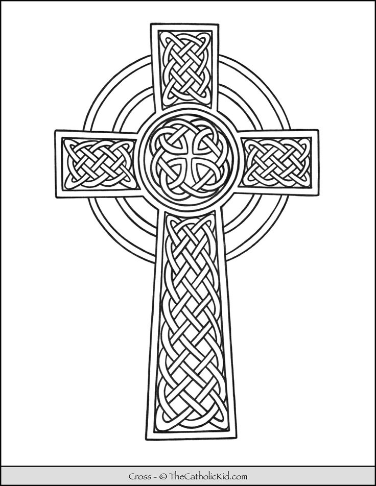 cross coloring sheet coloring pages of crosses clipart best sheet coloring cross