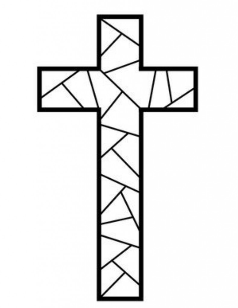 cross coloring sheet free printable cross coloring pages for kids cool2bkids sheet coloring cross