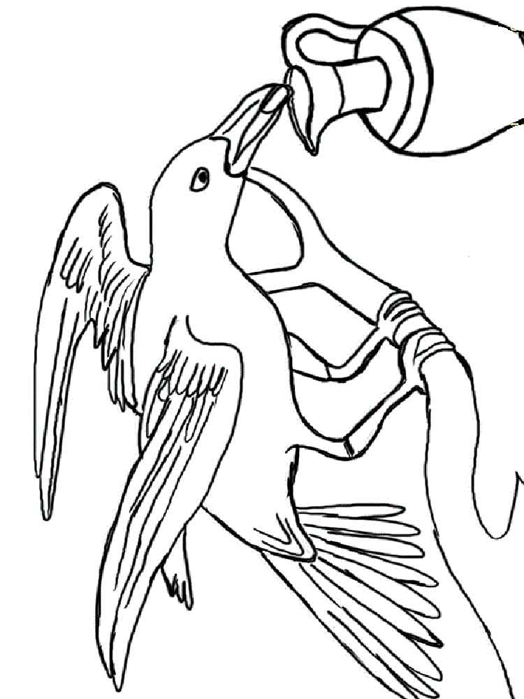 crow printable coloring pages crow coloring pages kidsuki coloring crow printable pages 1 1