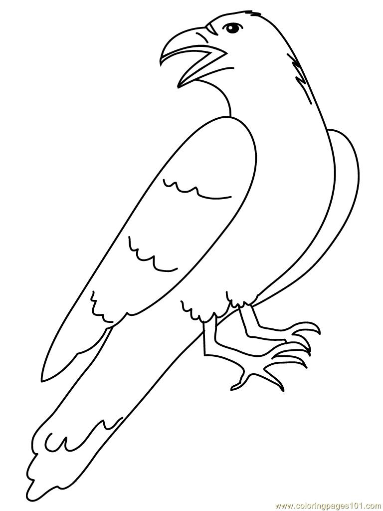 crow printable coloring pages crows coloring pages coloringbay coloring crow pages printable