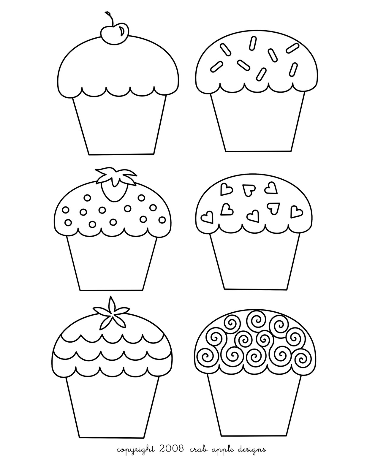 cupcake colouring template best cupcake outline 8279 clipartioncom colouring cupcake template