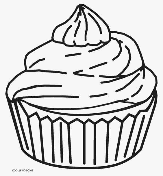 cupcake colouring template birthday cupcake coloring pages download and print for free cupcake template colouring