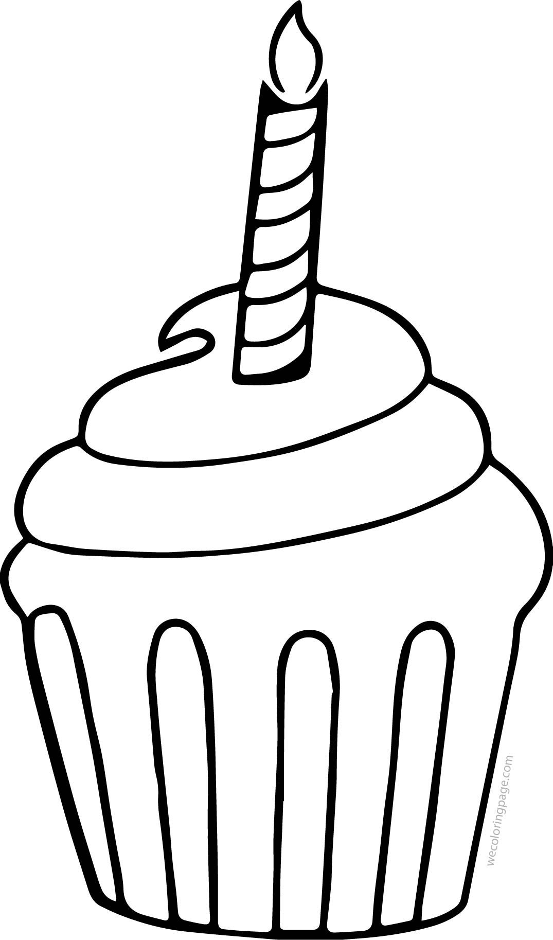 cupcake colouring template cupcake outline cupcake coloring page gclipartcom template cupcake colouring