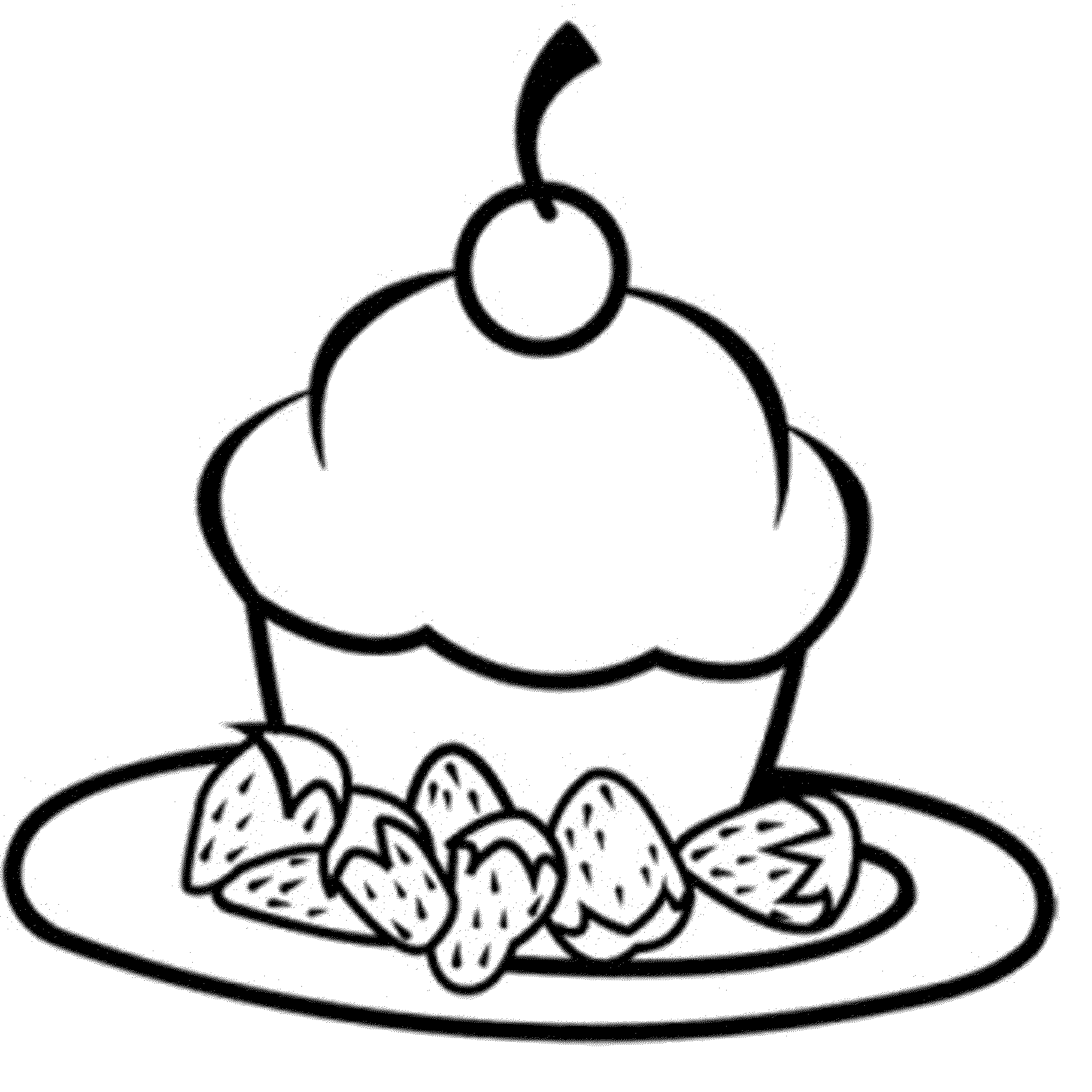 cupcake colouring template image result for cute cupcakes clipart cupcake coloring cupcake template colouring