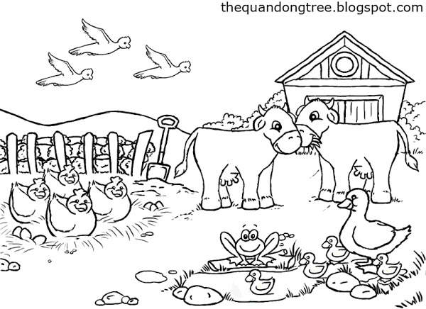 cute farm coloring pages farm coloring pages to download and print for free pages cute farm coloring