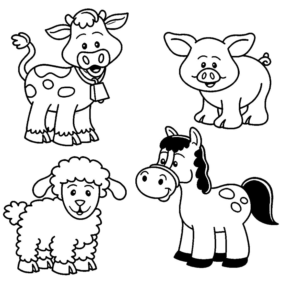cute farm coloring pages top 10 free printable farm animals coloring pages online pages cute coloring farm