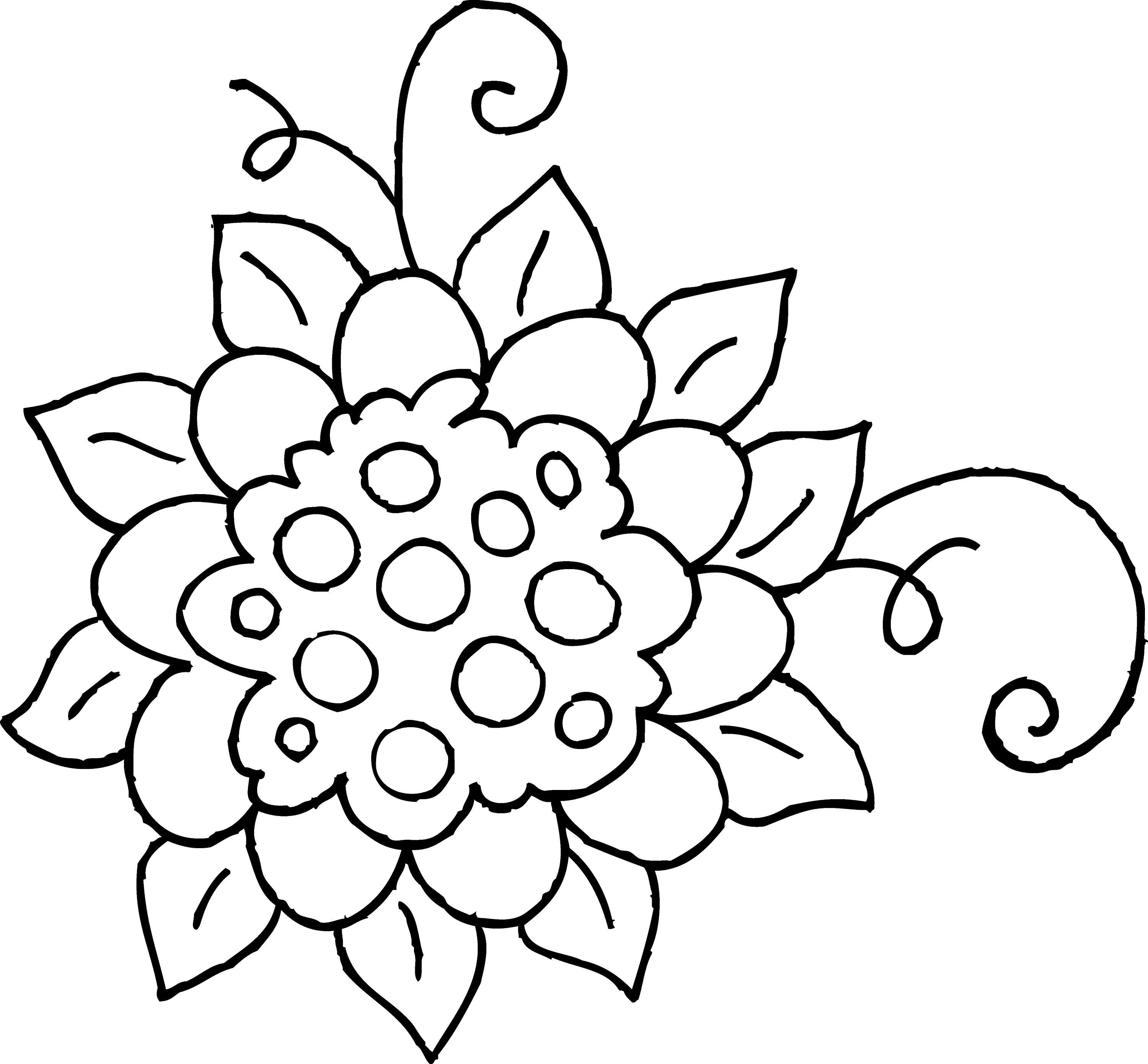 cute flower coloring pages cute spring flower coloring page 1 free clip art cute flower pages coloring