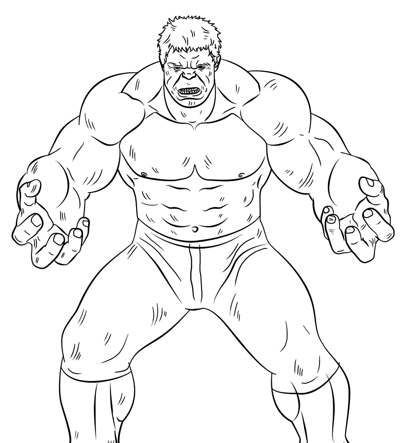 cute hulk coloring pages the hulk coloring page free printable coloring pages for hulk coloring pages cute