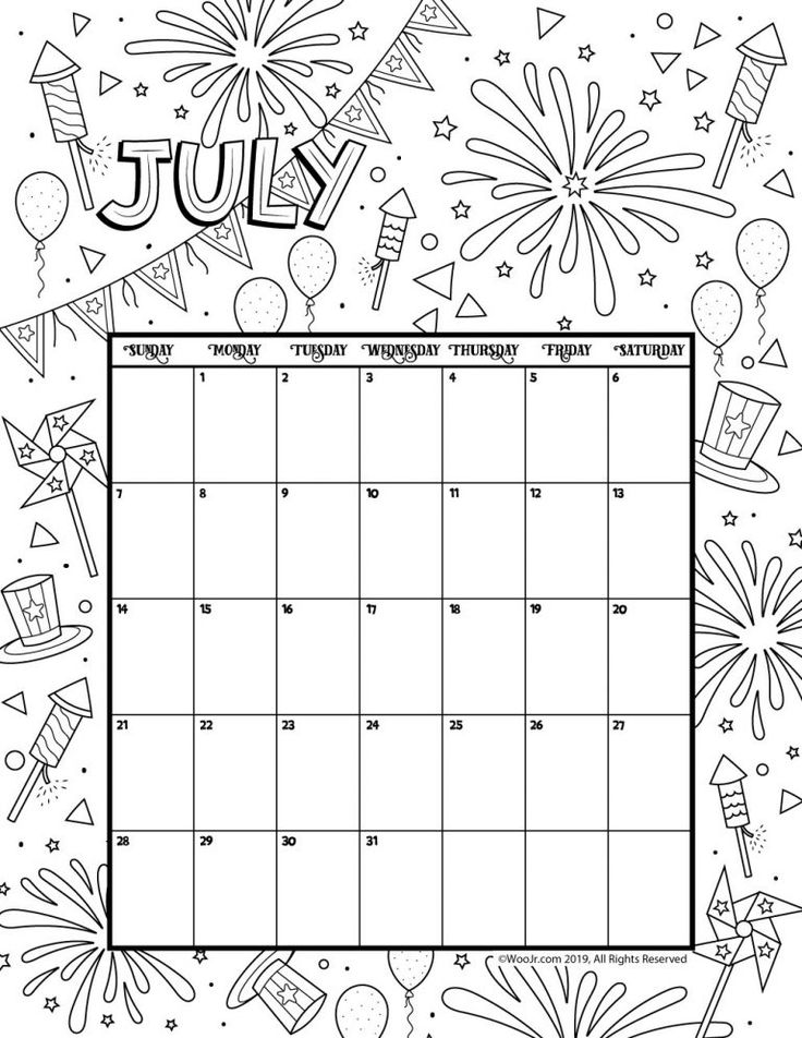 cute july coloring pages cute 4th of july girl coloring page flag firecracker pages coloring cute july