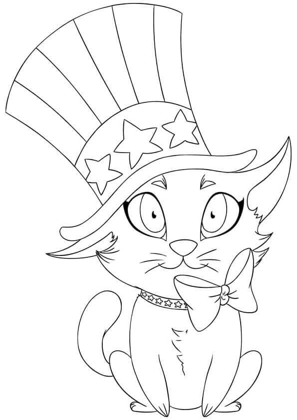 cute july coloring pages cute patriotic puppy 4th of july coloring page for kids july coloring pages cute
